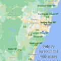 Sydney NP map